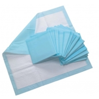 Quality Hospital Disposable Blue Bed PEE Adult Underpads For Incontinence for sale