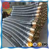 Quality 6 inch concrete conveying rubber hose  SBR material for abrasion resistance for sale