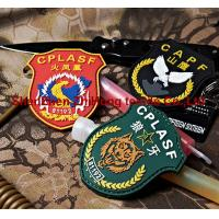 Quality Personality PVC badge/medal/epaulet/armband for sale