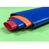 High Pressure PVC Layflat Hose 8 Inch For Water Discharge OEM / ODM Available