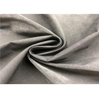 Quality Plain Water Repellent Dyed Memory Fabric 13% Nylon 87% Polyester For Jacket for sale