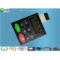 Quality Multi LED Embossing Membrane Switch 10 Pin Female Connector 1.0mm Pitch for sale
