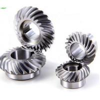 Quality sprial bevel gears for transmission gearbox High Quality Ball Mill Pinion Gear made in China for sale