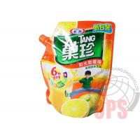 Quality PET / PE Liquid Spout BagsPlastic Food Package For Juice , top open automatic packing bag for sale
