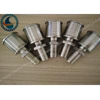 Quality Single Johnson Screens Products Water Filter Nozzle High Filtering Performance for sale