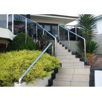 Quality Building Stainless Steel Balustrade , Stainless Steel Fence With Aluminum Alloy Materials for sale
