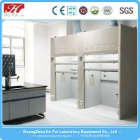 Quality White 8.0mm PP Board Laboratory Fume Cupboard With Air Exhaust System for sale