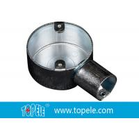 Quality BS Electrical Conduit Fittings Circular Junction Box For Conduit Fittings for sale