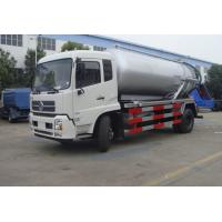 China high quality and cheapest price dongfeng tianjin RHD 10m3 sewage suction truck for sale, HOT SALE!  vacuum tank truck on sale
