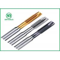 Quality Spiral Point Metric Hand Taps , Fully Ground 10mm X 1mm Tap For Machine for sale