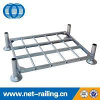 Quality storage inflatable stack pallet rack for sale