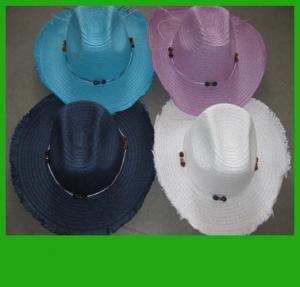 China panama hats,straw hats,cowboy hats on sale