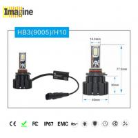 Quality Black Smart 9005 Led Headlight Kit , H10 Led Headlight Auto Led Lighting System for sale