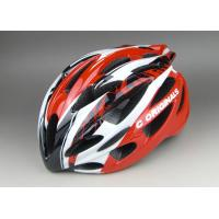 Quality Super Cool  PC Inmould Bicycle Helmet Cycling Red Black , Matt Or Shinny Finishing Available for sale
