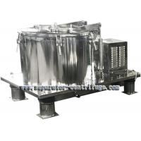 Quality Model PPTD Batch Basket Centrifuge for Hemp Washing with Ethanol for sale
