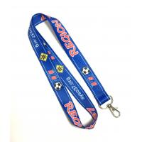 Quality Sport Lanyards Strap Football Heat Transfer Lanyards with Polyester Material for sale