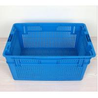 Quality Plastic Nestable and stackable mesh crate 630*420*315 mm for sale