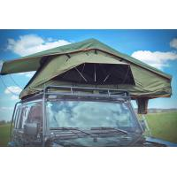 Quality Tear Resistant Pop Up Vehicle Tent With 2M Extendable Aluminum Ladder for sale