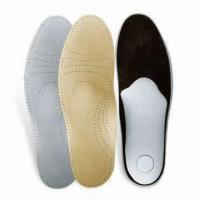Quality Orthotic Insole, Made of Leather, Different Sizes are Available for sale