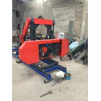 """27"""" Wood Cutting Used Portable Bandsaw Sawmill mobile horizontal band saw mill"""