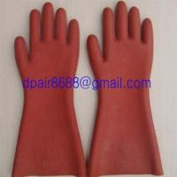 Quality rubber insulating gloves for sale