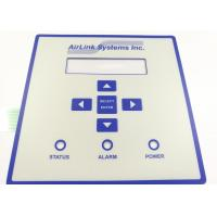 Quality Embossed Tactile Button Warterrpoof Membrane Switch With 3M Adhesive for sale