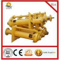 Quality heavy duty vertical slurry pump for sale