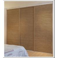 Sliding Closet Doors With Aluminum Frame Wood Sliding Wardrobe Doors