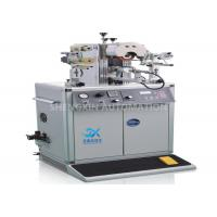 Buy cheap 700W Plastic Cap Hot Foil Stamping Machine with PLC Controlled product