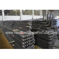 Quality BS3059 PT 1/ 2 OD 2'' HH Fins Marine Boiler Square Fin Tube with 90 Degree Bends for sale