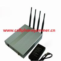 Buy cheap 4 Antenna Cell Phone Signal Blocker with Remote Control product