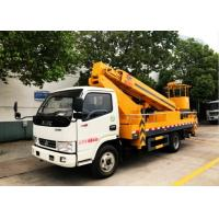 Quality 20 Meters Aerial Platform Truck Dongfeng High Altitude Platform Bucket Lift Truck for sale