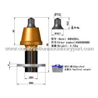 Buy Planing / Milling Concrete Road Milling Teeth 20Mm Shank Diameter at wholesale prices