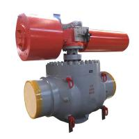 China API 6D Casting Trunnion Top Entry Ball Valve Manual / Actuated Operation on sale