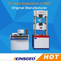 Buy cheap Computer Servo Electronic Hydraulic Universal Testing Machines For Metallurgy product