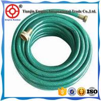 Quality steel wire braided fabric inserted hose flexible expandable garden hose for sale