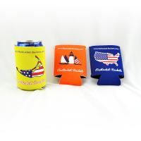 Quality Custom wholesale collapsible foldable neoprene beer cooler can holder size:10cmc*13cm  Material is neoprene for sale