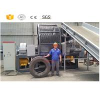 Quality New style high quality used tractor tire recycling machinery with CE for sale