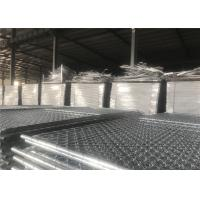 """Quality 6'x10' chain link construction fence panels mesh 2.5""""x2.5"""" diameter 2.5mm for sale"""
