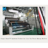 Single Beam PP Spunbond Production Line / High Output Non Woven Making Machine
