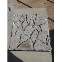 China Chinese light Grey Lava Stone tiles on sale