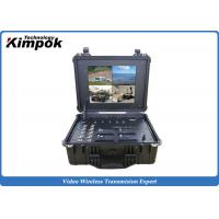 Buy cheap 4 In One 17 inch Handheld COFDM Digital Receiver Box Wireless DVR product