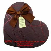 Quality Brown Heart-Shaped Chocolate Boxes for sale