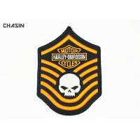 China Fashionable 3D Embroidery Patches Motorcycle Club Fabric Badges Patches on sale