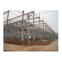 China Prefab Office Building , Steel Framing Systems With Steel Structure Galvanized Panel on sale