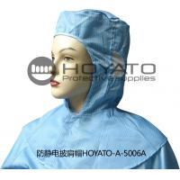 Quality Germicidal Clean Room Garments Anti Static ESD Shawl Hat With Good Air Tightness for sale