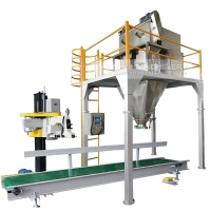 Quality Screw Feeding 25kg Powder Bagging Equipment 200 Bags Per Hour for sale