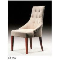 Quality Hotel Restaurant Furniture,Wooden/Fabric Dining Chair for sale