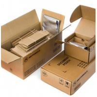 Buy cheap Brown Plain Custom Corrugated Packaging Boxes With Glossy / Matt Lamination product