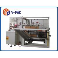 China High Performance Case Erector Machine Adjustable With 625 - 650mm Worktable on sale